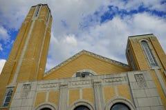 Eine griechische Kirche Lizenzfreie Stockbilder