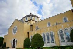 Eine griechische Kirche Lizenzfreies Stockbild