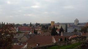 Eine große Ansicht der Stadt Stockfotografie