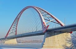 Eine große Bogenbrücke Lizenzfreie Stockbilder