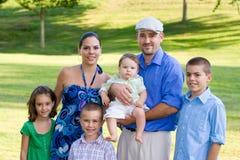 Eine große Familie Lizenzfreie Stockfotografie