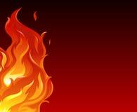 Eine große Flamme Stockfotos