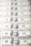 Franklins in Folge Lizenzfreies Stockfoto