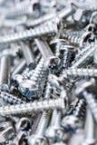 Eine große Sammlung verschiedene Eisen-Schrauben und Bolzenmuttern #1 Lizenzfreie Stockfotos