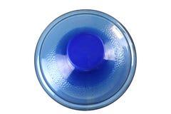 Eine gro?e Flasche reines Wasser, gro?e Flasche Trinkwasser lokalisiert auf schwarzem Hintergrund stockbilder