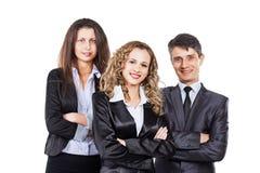 Eine Gruppe des attraktiven und erfolgreichen Geschäfts, Lizenzfreie Stockfotografie