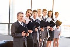 Eine Gruppe Geschäftsmänner Lizenzfreie Stockfotografie