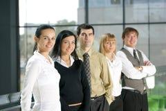 Eine Gruppe junge Geschäftsleute Stockfotografie