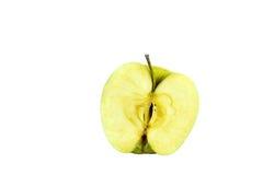 Eine Hälfte des Apfels Lizenzfreie Stockbilder