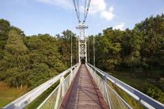 Die Fußbrücke Lizenzfreies Stockbild