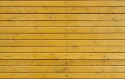 Eine hölzerne Wand Lizenzfreies Stockbild