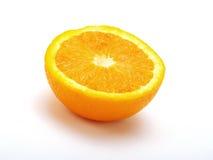 Eine halbe Orange Stockfoto