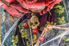 Eine Halloween-Ansicht in London lizenzfreie stockbilder