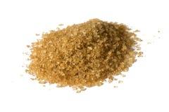 Eine Handvoll brauner Zucker Stockbilder