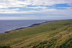Eine hawaiische Küstenlinie - Kauai, Hawaii Lizenzfreies Stockbild