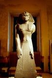 Eine historische Ägypten-Skulptur der Sphinxes Stockfotografie