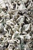 Quetschverbundener Bargeld-Hintergrund lizenzfreie stockfotos