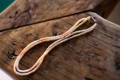 Eine Hydrabad-Perlen-Halskette stockbilder