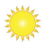 Die Sonne Lizenzfreie Stockbilder
