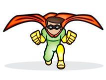 Eine Illustration eines Superhelden Lizenzfreies Stockfoto