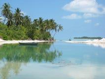 Eine Insel Stockbild