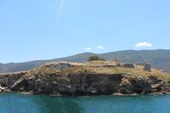 Eine Insel vor der Küste von Griechenland stockfoto
