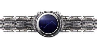 Eine intelligente Uhr Stockbilder