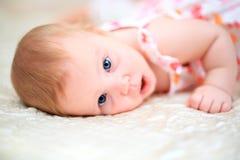 Eine Jahre alte Baby Lizenzfreie Stockbilder