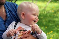 Eine Jahre alte Baby Lizenzfreies Stockbild
