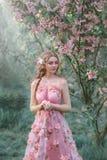 Eine junge Prinzessin Stockfoto