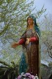 Eine Jungfrau- Mariastatue lizenzfreie stockbilder