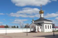 Eine Kapelle in Abalak-Kloster Stockbild
