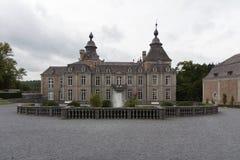 Eine Kaste in den Ardennen in Belgien lizenzfreies stockfoto