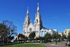 Eine Kathedrale in San Francisco Stockfotografie