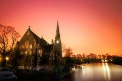 Eine Kirche Lizenzfreies Stockfoto