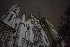 Eine Kirche in Detroit stockfotografie