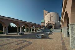Eine Kirche in Polen Lizenzfreie Stockfotografie