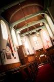 In eine Kirche von Amsterdam Lizenzfreie Stockfotos