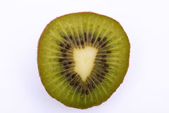 Eine Kiwifrucht halb Lizenzfreies Stockfoto