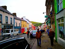 Eine klassische Irland-Stadt Lizenzfreies Stockbild