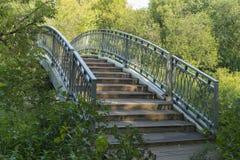 Eine kleine Brücke Lizenzfreies Stockfoto