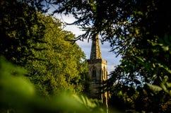Eine kleine Dorfkirche Lizenzfreie Stockfotografie