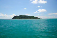 Eine kleine Insel Stockfotografie