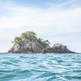 Eine kleine Insel Lizenzfreies Stockfoto