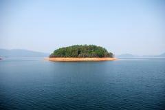 Eine kleine Insel Stockbilder