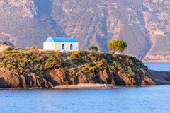 Eine kleine Insel Kastri Lizenzfreie Stockfotografie