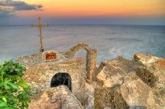 Eine kleine Kapelle Stockfotografie