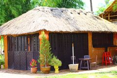 Eine kleine reizende Hütte Stockbilder