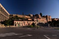 Eine kleine Stadtlandschaft stockfotos