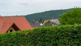Eine Kleinstadt in Deutschland Stockbilder